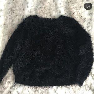 brandy melville fur sweater
